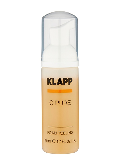 Klapp C PURE Face Foam Peeling 50 Ml Promo Renksiz